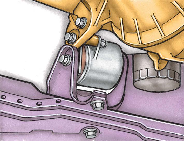 Volkswagen Golf II 2.1 Снятие и установка двигателя Фольксваген Гольф Технические описания Руководство по ремонту интернет-магаз